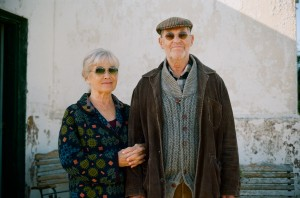 Anita Wall as Frida and Lars Lind as her husband Yngve.
